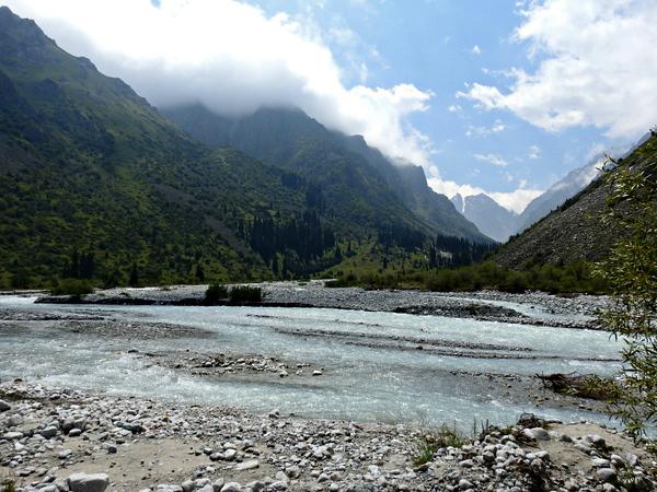 Ala Archa River Valley