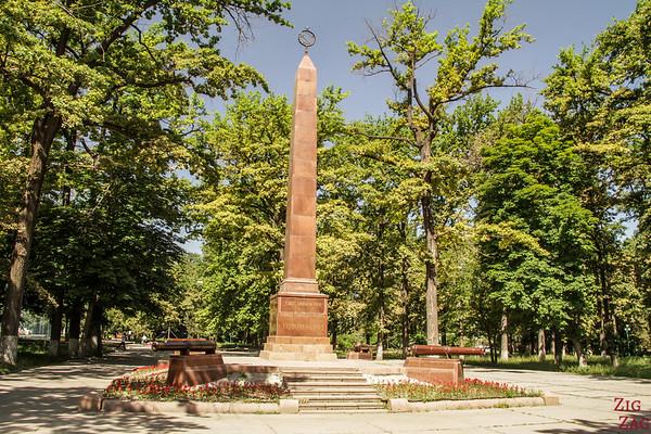 green city Bishkek, Kyrgyzstan 4