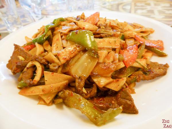 Kyrgyzstan food: main dish 6