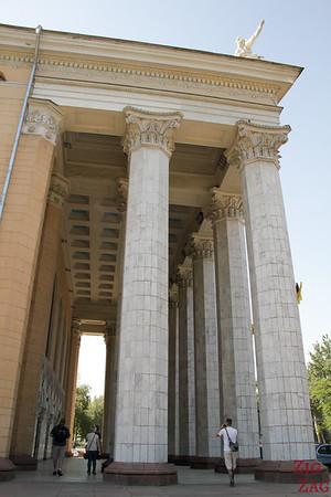 opera columns Bishkek, Kyrgyzstan