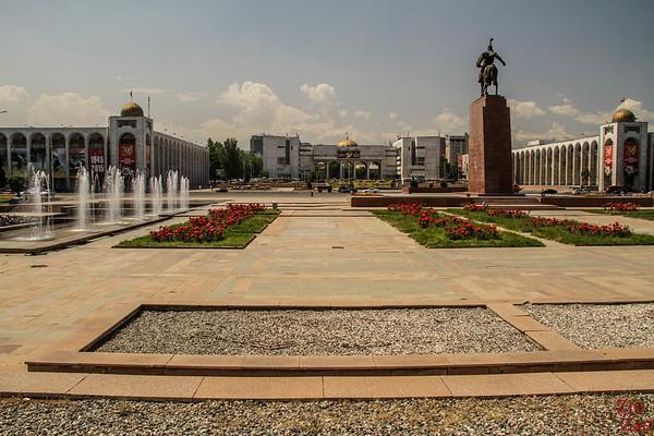Ala-too square Bishkek, Kyrgyzstan