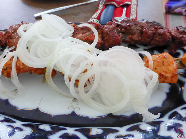Kyrgyzstan food: main dish 3
