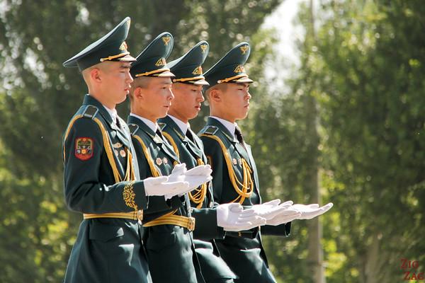Parade at Victory Square 2 Bishkek, Kyrgyzstan