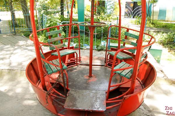 Amusement park ferris wheel Bishkek, Kyrgyzstan
