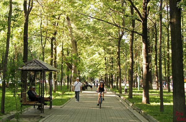 green city Bishkek, Kyrgyzstan 3