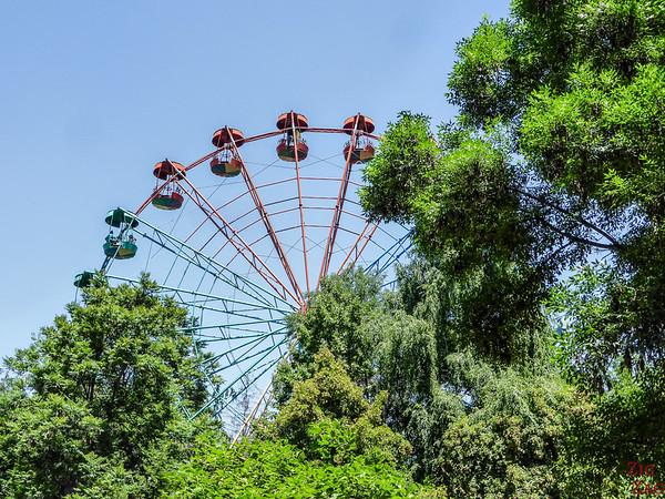 Amusement park Bishkek, Kyrgyzstan