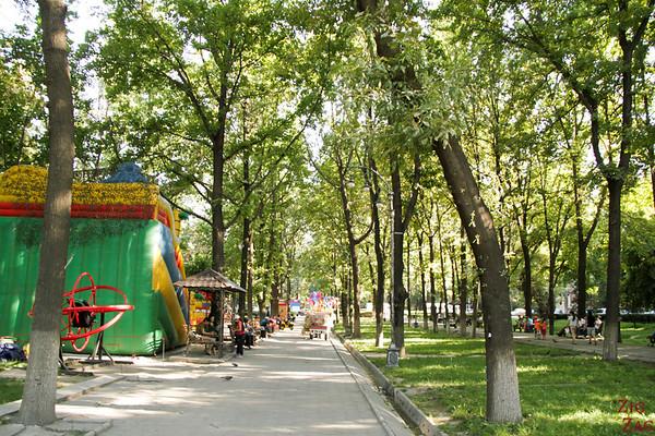 green city Bishkek, Kyrgyzstan 2
