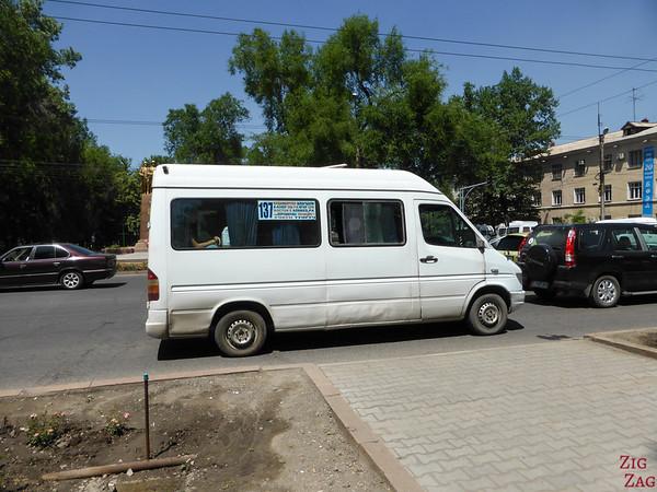 marshrutka Bishkek, Kyrgyzstan