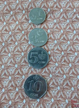 Coins of Kyrgyz SOM