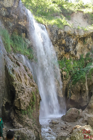 Arslanbob, Kyrgyzstan: small waterfall 2
