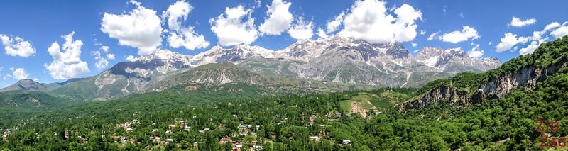 Arslanbob, Kyrgyzstan: panorama 3