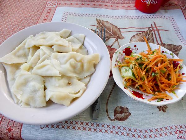 Kyrgyzstan food: main dish 9