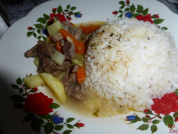 Kyrgyzstan food: main dish 10