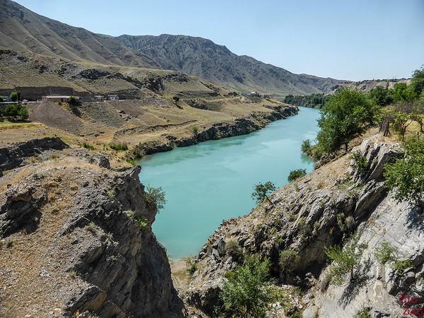 Driving along M41, Kyrgyzstan 2