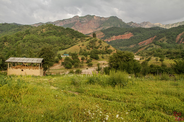 Arkit village, sary Chelek Reserve, Kyrgyzstan