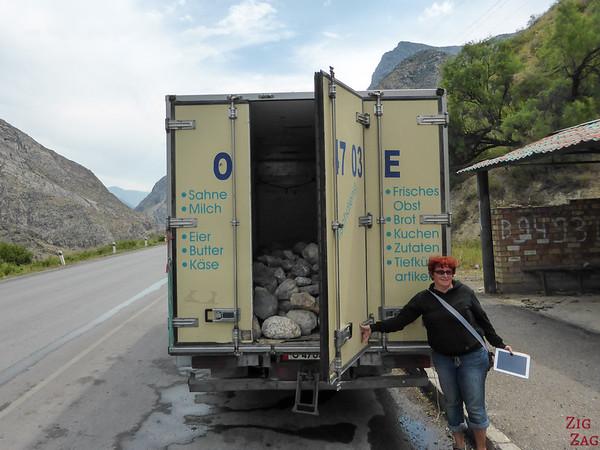 truck in Kyrgyzstan