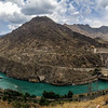 Dam on the Naryn river