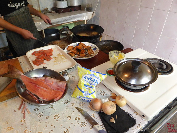 Kyrgyzstan food: fish 3