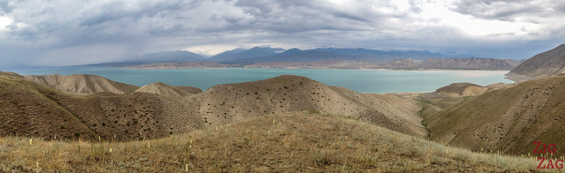 Top 7 places to visit in Kyrgyzstan : Toktogul Reservoir
