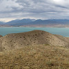 Toktogul reservoir panorama