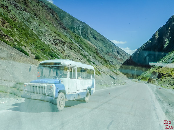 old bus in Kyrgyzstan 3