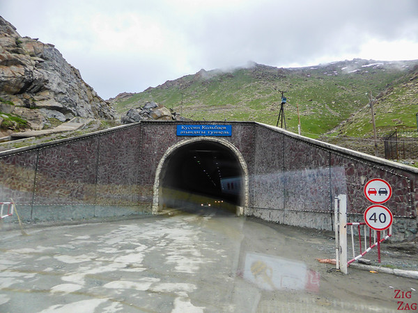 Too Ashuu mountain pass tunnel, Kyrgyzstan