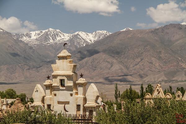Cemetery Kyrgyzstan