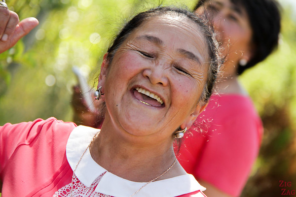 Kyrgyz singer