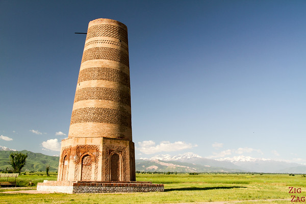 the Burana Tower Kyrgyzstan 2