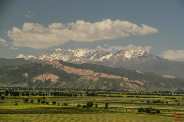 View from the top of the Burana Tower, Kyrgyzstan 2