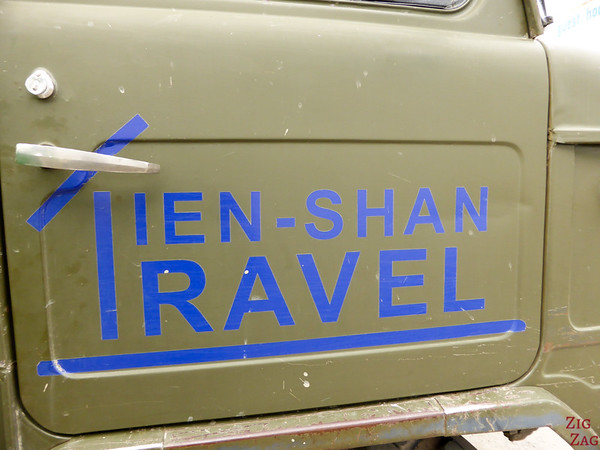 Tien Shan Travel drive to Altyn Arashan