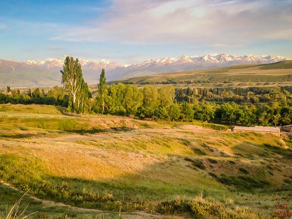 Karakol sunset, Kyrgyzstan 1