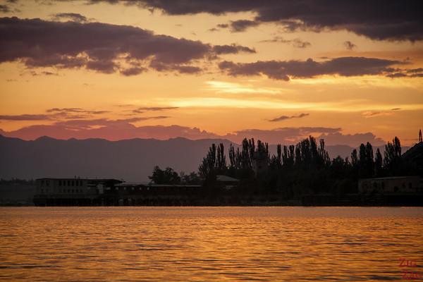 Issyk Kul Karakol sunrise, Kyrgyzstan 2