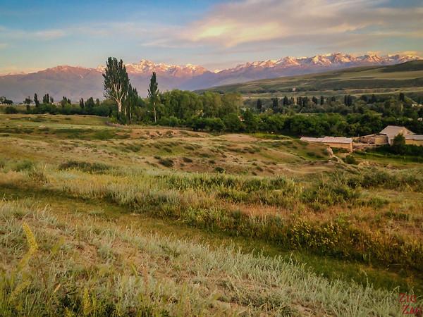 Karakol sunset, Kyrgyzstan 2