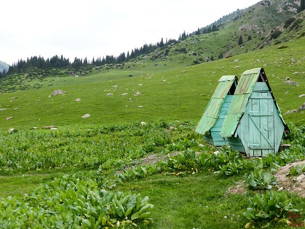 toilets Altyn Arashan Kyrgyzstan