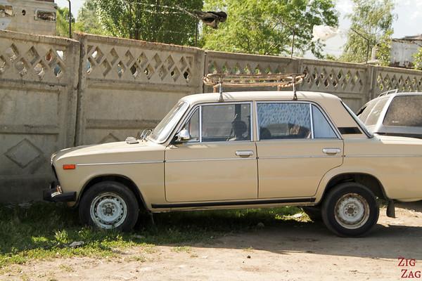 old lada car in Kyrgyzstan 4