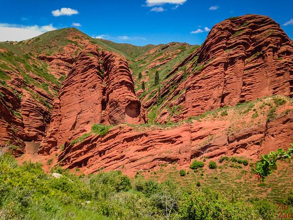 Dragon Gorge, Jeti-Oguz, Kyrgyzstan