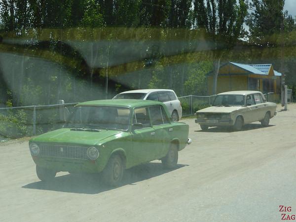 old lada car in Kyrgyzstan 3