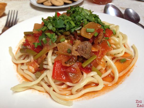 Kyrgyzstan food: main dish 7