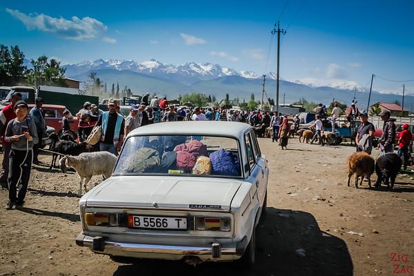 old lada car in Kyrgyzstan 2