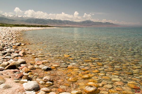Colors of Lake Issyk Kul, Kyrgyzstan 2