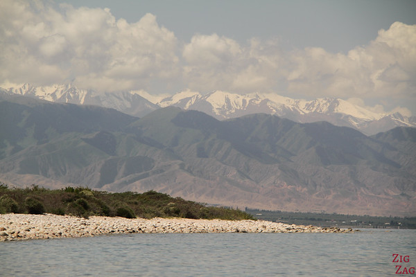 Colors of Lake Issyk Kul, Kyrgyzstan 3