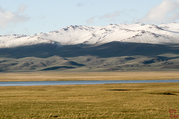 Surrounding mountains at Song Kul lake, Kyrgyzstan 3