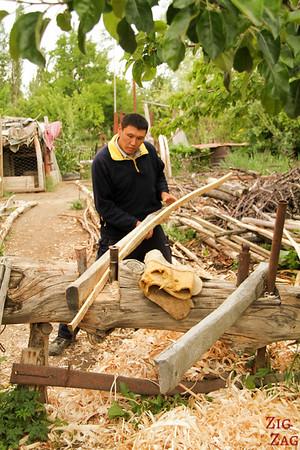 Making Kyrgyz yurt 3