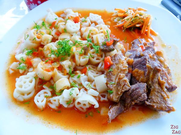 Kyrgyzstan food: main dish 8