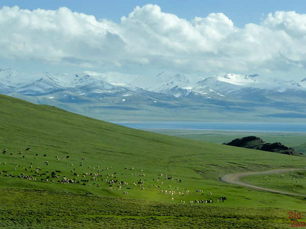 Arriving at SOng Kul lake, Kyrgyzstan 2