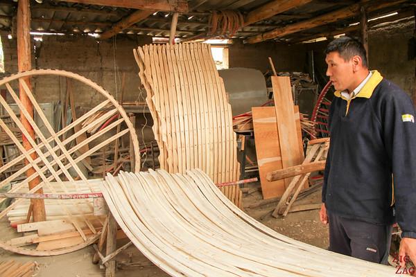 Making Kyrgyz yurt 2