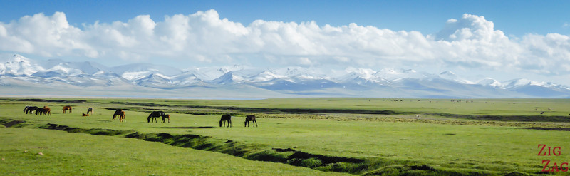 Arriving at SOng Kul lake, Kyrgyzstan 3