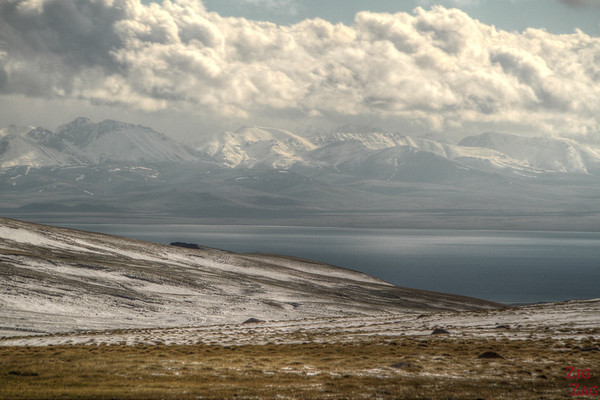 View of Song Kul lake