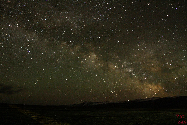 Night at  Song Kul lake, Kyrgyzstan 2
